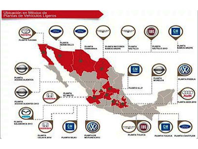 Tecna will attend Automotive Meetings Queretaro 2015