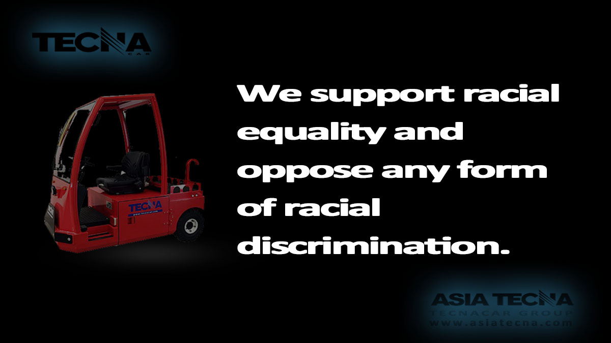 We support racial equality.
